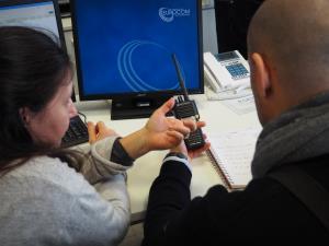 Prova radio Protezione civile
